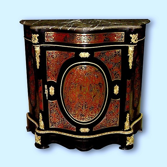 majestic louis xiv style boulle commode ebay. Black Bedroom Furniture Sets. Home Design Ideas