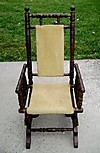 ANTIQUE RARE top quality Child's Rocker 19th C. England