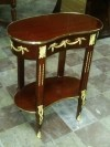 Gorgeous ornate side table Louis XV style