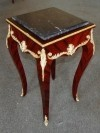 GORGEOUS QUALITY marble top ornate Louis XV side table