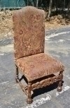 superbly carved solid Mahogany Victorian style chair