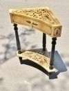 Elegant french directoire style Maple corner SIDE TABLE