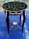 Stunning LARGE French Empire style round side table