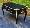 French Louis XV Writing Desk Bureau Plat Table Desks