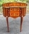 VERY BEST Louis XV style side table commode