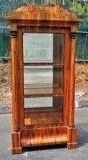 HIGH End Cherry wood  Biedermeier style cabinet