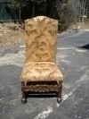 High Quality Victorian style chair in solid Mahogany