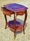 in 3 weeks Gorgeous Louis XV style French  side table