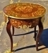 SUPERB LARGE Louis XV style round  CENTER side table