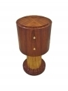 Pure Art Deco style side table commode