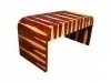 Fantastic exotic Rosewood Art Deco Style Desk