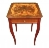 Victorian style side table MAGNIFICENT inlayings