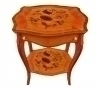 Superb Quality French Louis XV marquetry side table
