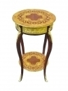 Fabulous Louis XV style wine bed side table