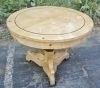 QUALITY Round Elmwood Biedermeier style Table