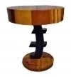 Special forms side table in  Art Deco style .