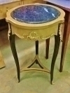 elegant SIDE TABLE marble topped Louis XV style
