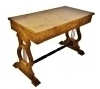 IN 8 WEEKS GORGEOUS BURL MAPLE BIEDERMEIER DESK