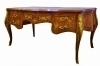 Best LARGE presidential Louis XV brass and marquetry