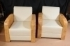 in 8 weeks Best Quality Pair golden maple Armchairs
