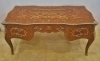 Royal Bronze and marquetry Louis XV Style ornate Desk