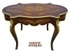 in 12 weeks sensational louis oval Marquetry Desk