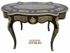 in 12 weeks sensational Boulle Desk brass Inlaid
