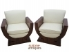 in 8 weeks Best Quality Pair burl Rosewood Armchairs