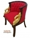 LUXURIOUS LOUIS XV ARMCHAIR WITH BRONZE
