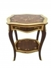 quality Louis style two toned side table