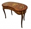 Kidney shaped all Marquetry Louis XV style Lady's desk