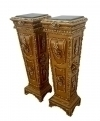 Classic GOLDEN Louis XV PAIR of Louis XV Stands