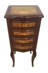 Very elegant Victorian bed side commode 4 drawers