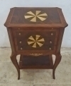 Unique Handcrafted side table commode side drawers