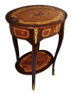 Oval quality LOUIS XV marquetry stand SIDE TABLE