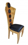 Most elaborate Maple Art deco chair