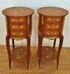 QUALITY Pair bed side tables commodes Louis xv style