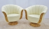 Best Quality Maple Tulip shaped Art Deco chairs