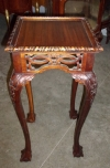 FABULOUS solid mahogany high stand