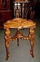 French Art Nouveau GALLE style side table.
