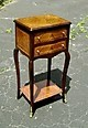AWESOME Napoleon style side table commode