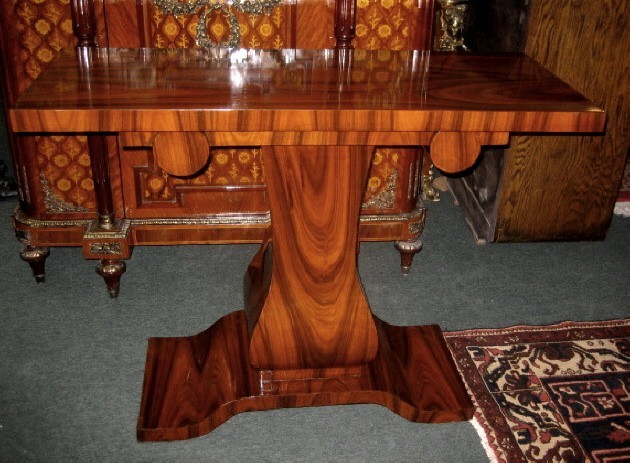 IMPRESSIVE Rosewood Art Deco style console