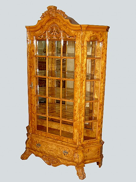 EXQUISITE & stunning Large Dutch Style ELM cabinet
